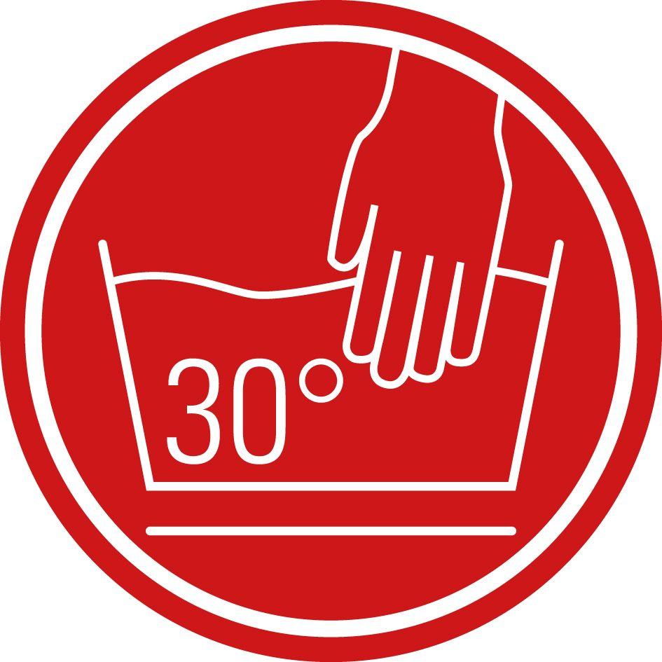 30 Grad Handwäsche